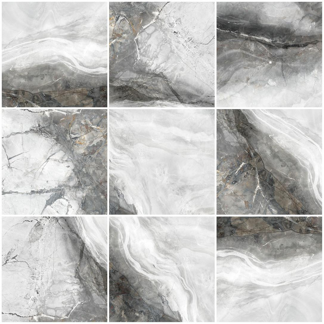 INVISIBLE GREY POLISHED RECT. 120x120,60x120см